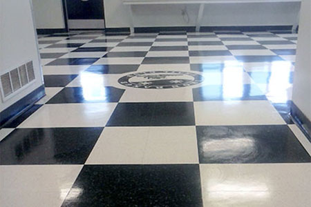 Commercial Tile Floor Refinishing in Upper Michigan